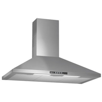 Neff H799xW900xD500 Chimney Cooker Hood - Stainless Steel
