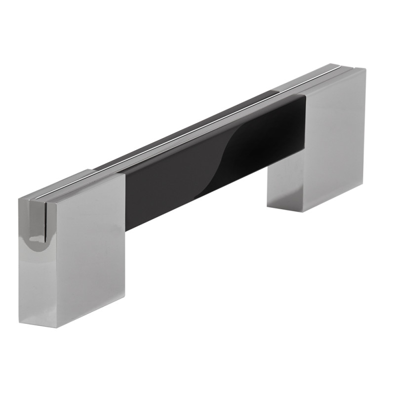 160x192mm Lisa Black Bar Handle primary image