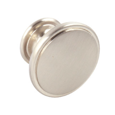 38mm Evie Brushed Nickel Knob Handle