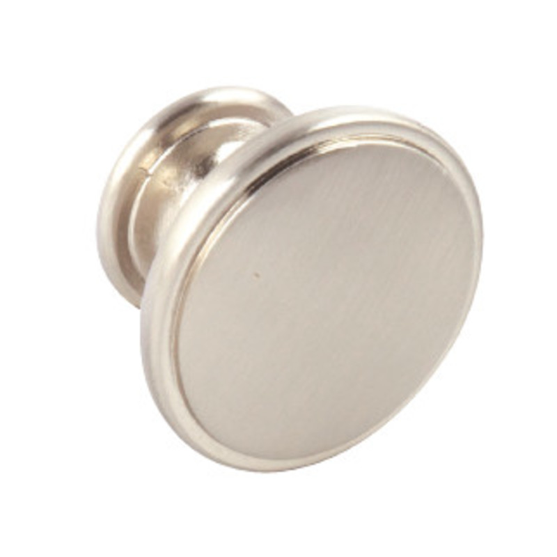 38mm Evie Brushed Nickel Knob Handle primary image