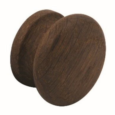 55mm Sienna Smoked Oak Knob Handle