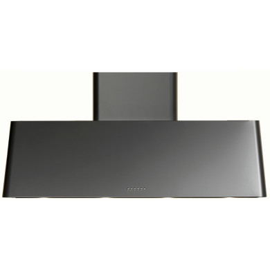 Ilve Roma 100cm Chimney Hood Black Matt - AG100/M