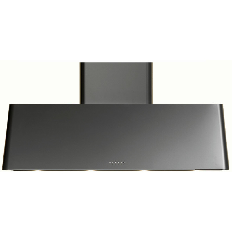 Ilve Roma 100cm Chimney Hood Black Matt - AG100/M primary image