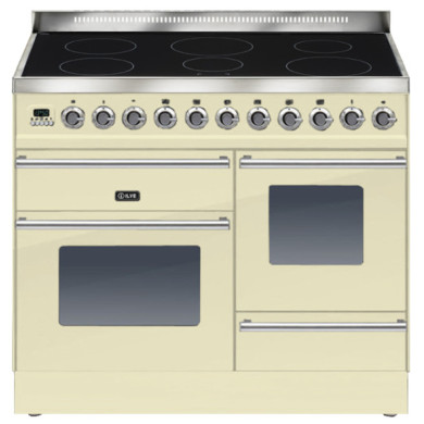 ILVE Roma 100cm XG Range Cooker  6 Zone Induction Cream - PTWI100E3/A