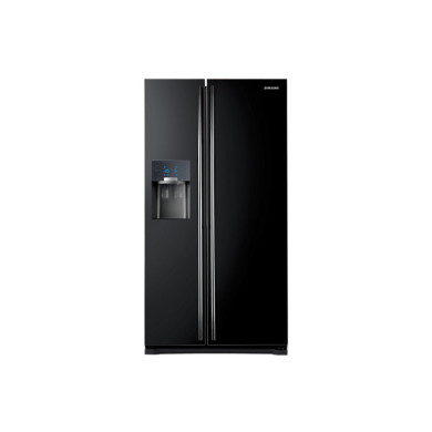Samsung H1789xW912xD754 Gloss Black Side by Side Fridge Freezer - RS7567BHCBC/EU