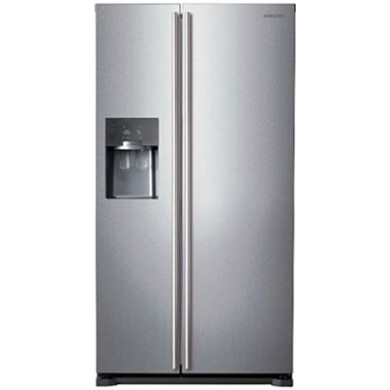 Samsung H1789xW912xD754 Silver Side by Side Fridge Freezer - RS7567BHCSP/EU