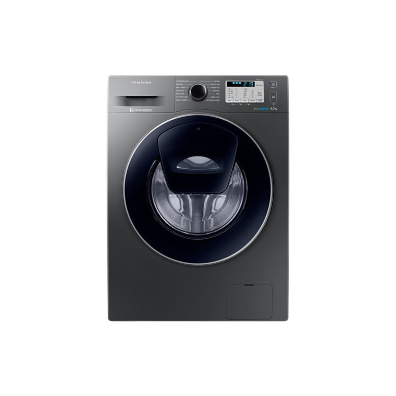 Samsung H850xW600xD550 Add Wash Graphite Washing Machine primary image