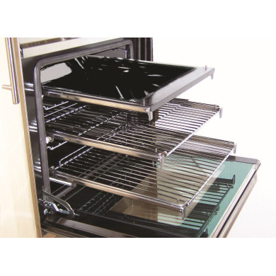 ILVE H100xW600xD450 Telescopic Sliding Oven Trays
