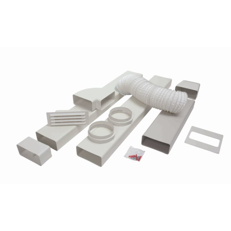CDA 125mm x 3m Flat Channel Ducting Kit primary image