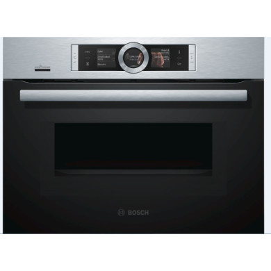 Bosch H455xW595xD548 HomeConnect Microwave