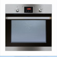 Matrix H595xW595xD575 Single Fan Oven With Timer Clock - Black