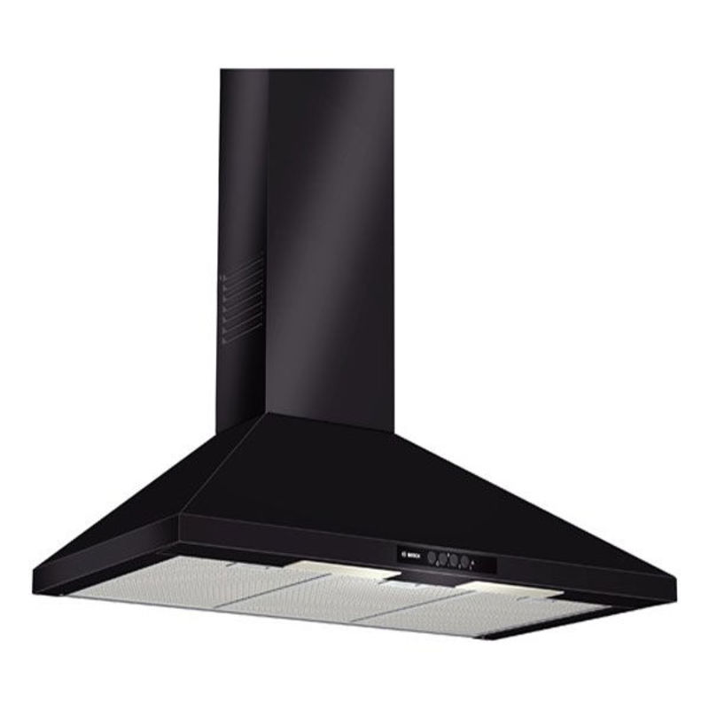 Bosch H799xW900xD500 Chimney Cooker Hood - Black primary image