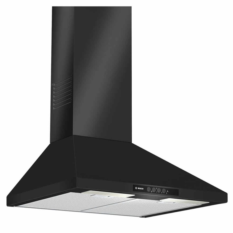 Bosch H799xW600xD500 Chimney Cooker Hood - Black primary image