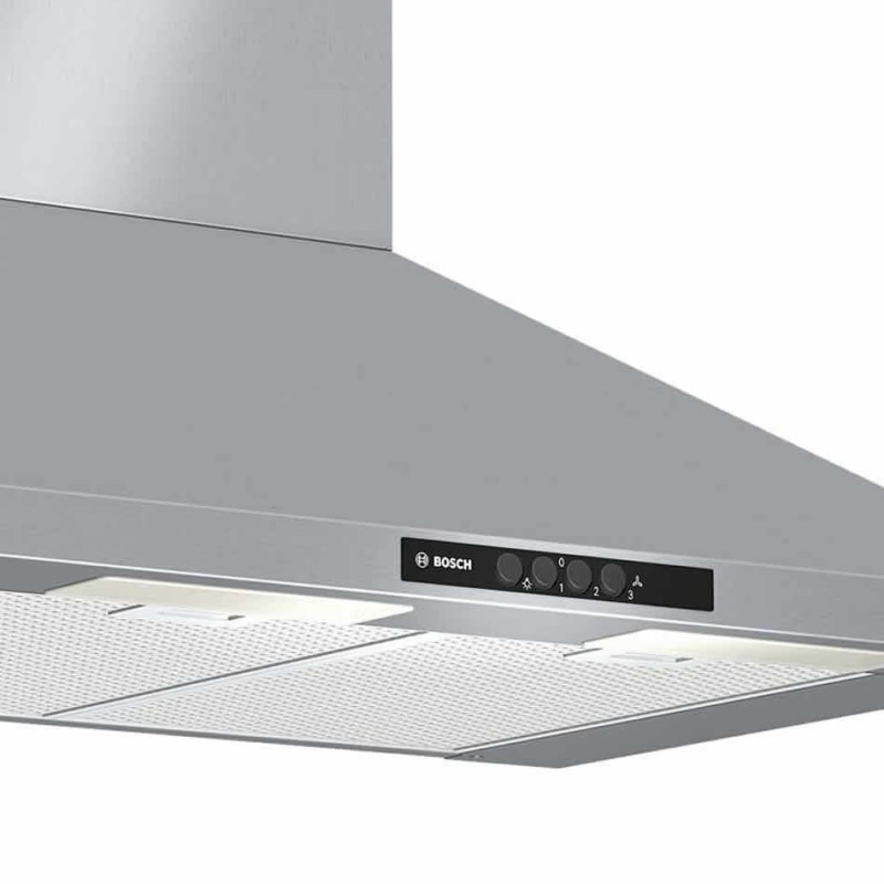 Bosch H799xW700xD500 Chimney Cooker Hood - Brushed Steel additional image 1