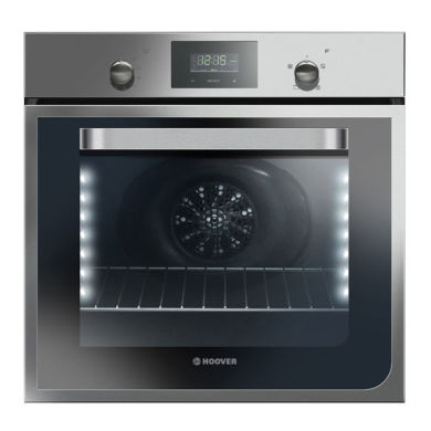 Hoover H595xW595xD550 55L Single Fan Oven - Stainless Steel
