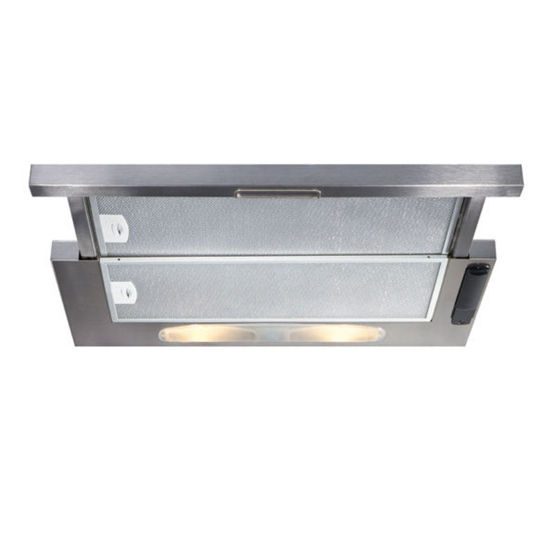 CDA H135xW600xD258 Telescopic Cooker Hood - Stainless Steel primary image