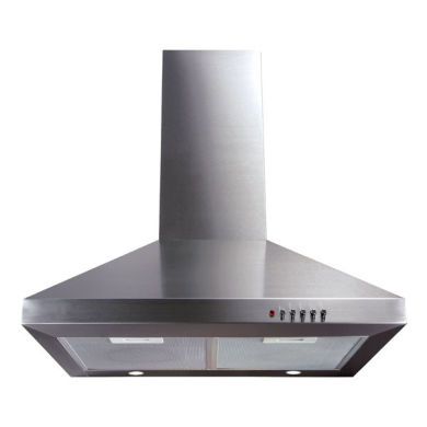 CDA H1020xW600xD500 Chimney Cooker Hood - Stainless Steel
