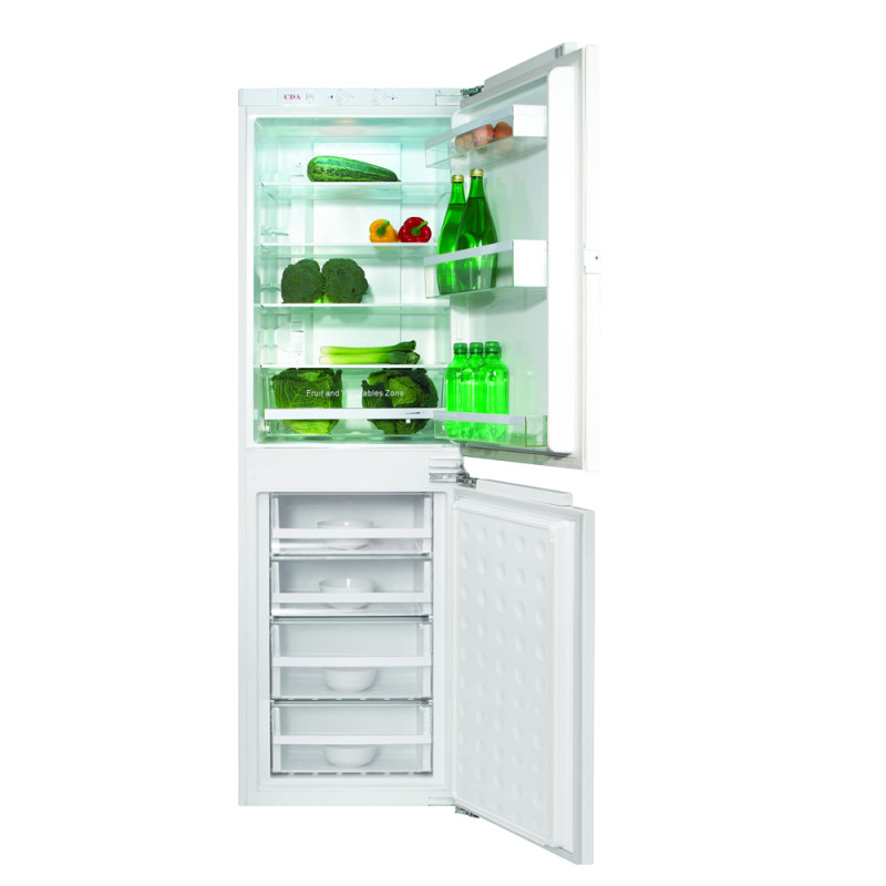 CDA H1770xW555xD540 50/50 Integrated Fridge Freezer (Frost Free) primary image