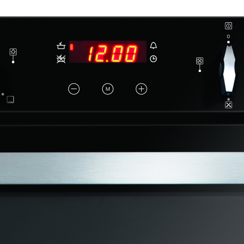 CDA H888xW595xD562 Built-In Electric Double Oven - Black additional image 3