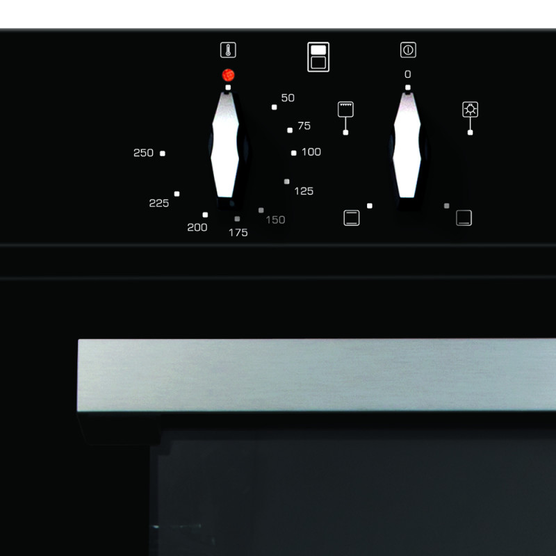 CDA H888xW595xD562 Built-In Electric Double Oven - Black additional image 5