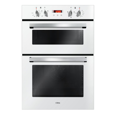 CDA H888xW595xD562 Built-In Electric Double Oven - White