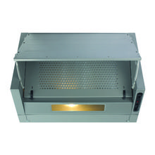 CDA H380xW600xD270 Integrated Cooker Hood - Silver