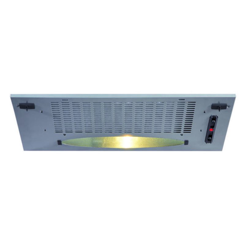CDA H148xW525xD282 Canopy Hood - Silver - CCA5SI primary image