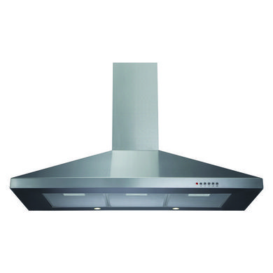 CDA H1020xW1000xD500 Chimney Cooker Hood - Stainless Steel