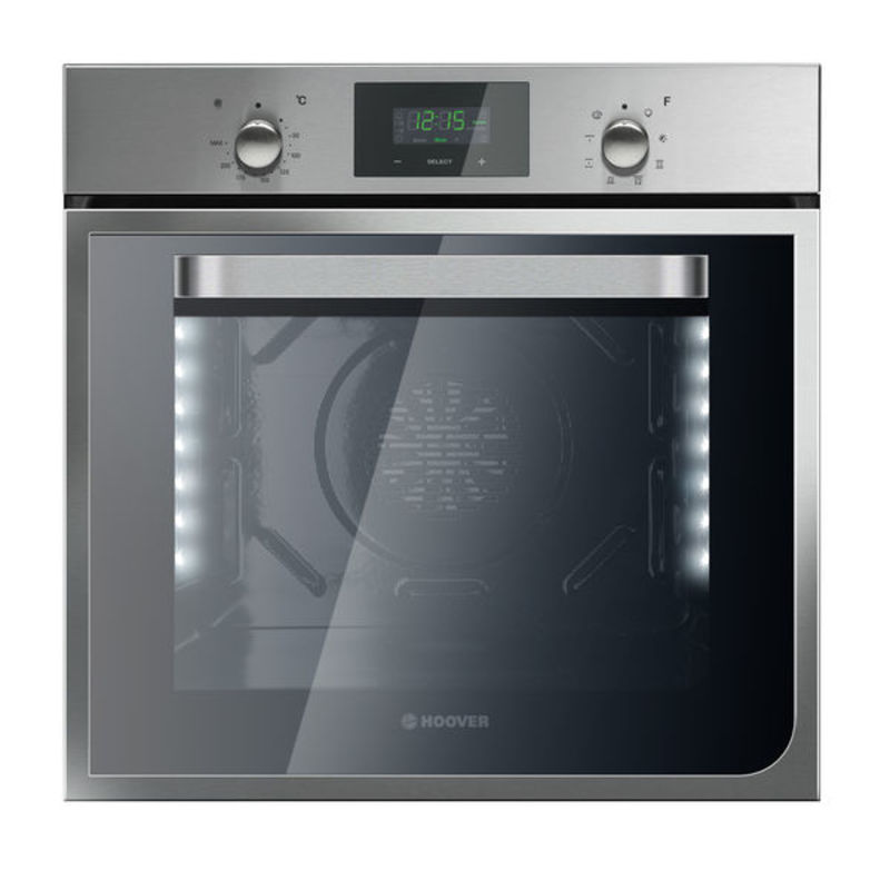Hoover H595xW595xD540 55L Single Multi-Function Oven - Stainless Steel primary image