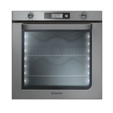 Hoover H595xW595xD568 78L Single Multi-Function Oven - Stainless Steel