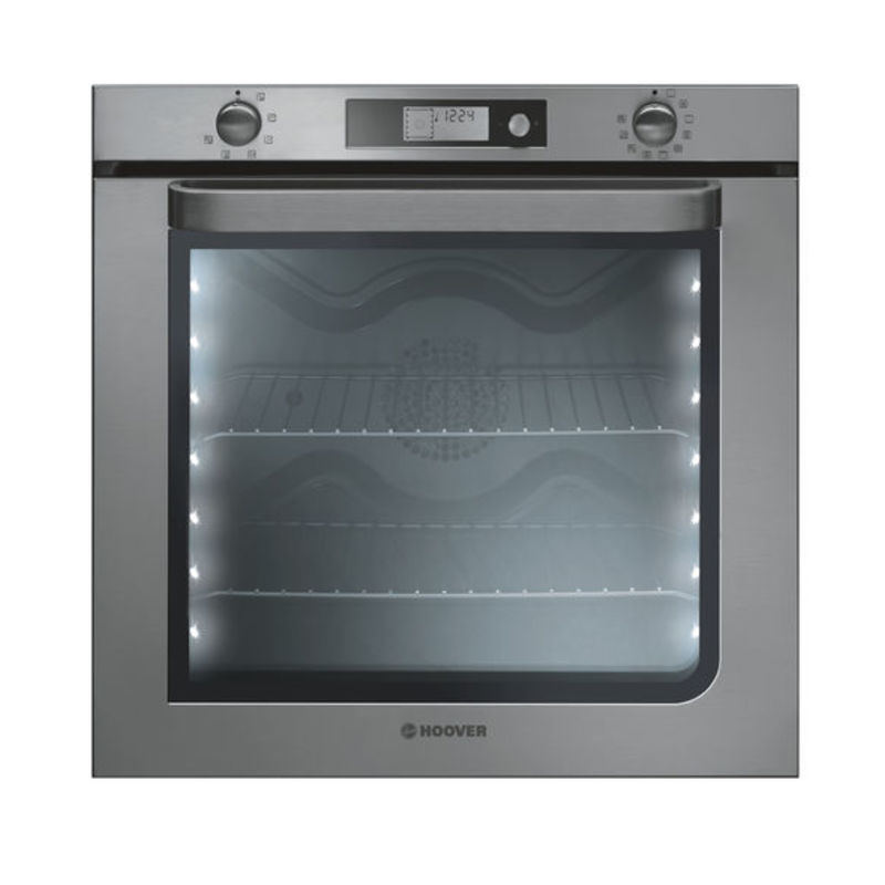 Hoover H595xW595xD568 78L Single Multi-Function Oven - Stainless Steel primary image
