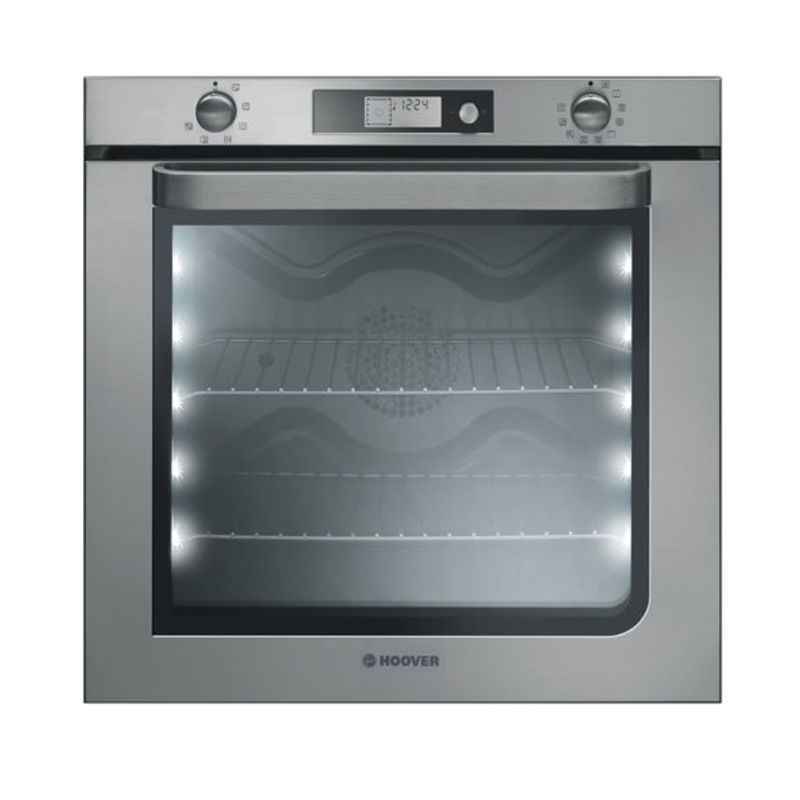 Hoover H590xW595xD540 73L Self Clean Multi-Function Oven - Stainless Steel primary image