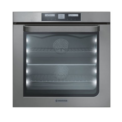 Hoover H595xW595xD566 73L SelfClean Multi-Function Oven - Stainless Steel (Twin Option)