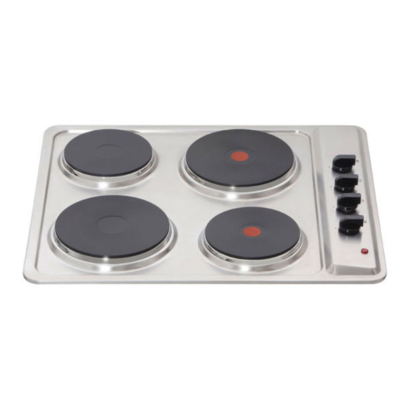 Matrix H38xW585xD500 Solid Plate Hob - Stainless Steel additional image 1