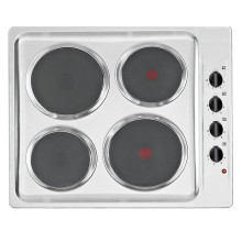 Matrix H38xW585xD500 Solid Plate Hob - Stainless Steel - MHE001SS