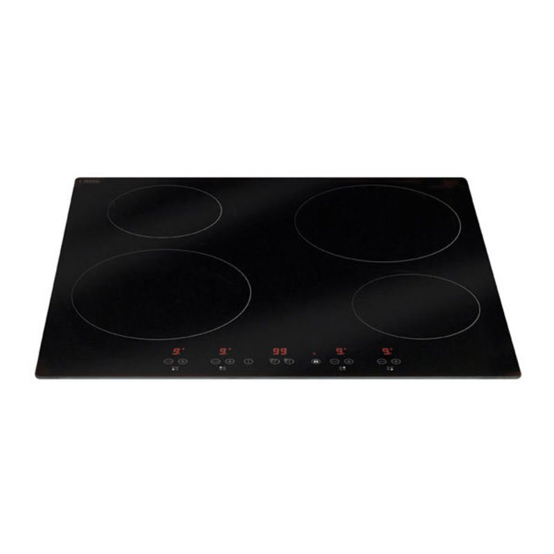 Matrix H60xW580xD510 Induction 4 Zone Hob - Black Glass - MHN100FR primary image