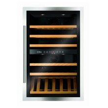 CDA H884xW592xD563 Tower Integrated Wine Cooler - Stainless Steel (55 bottles)