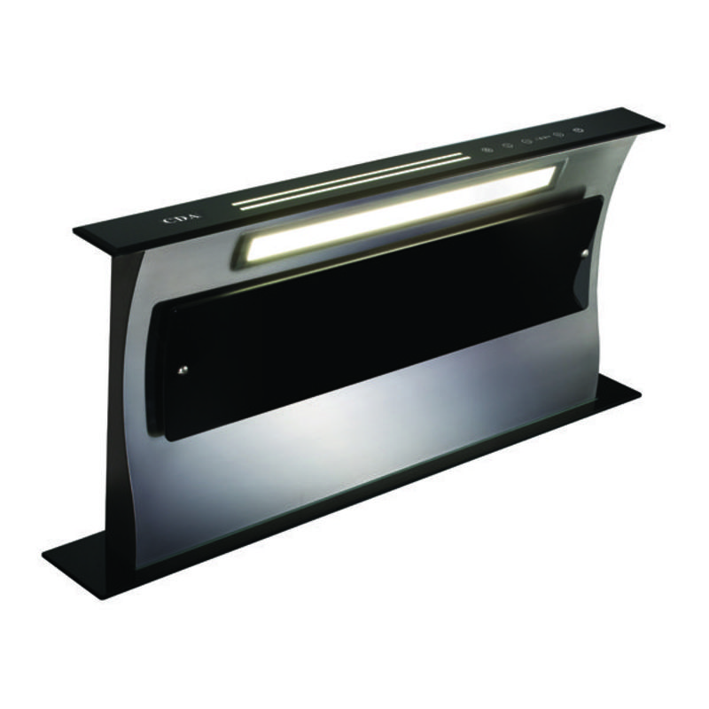 CDA W880xD116 Deluxe Downdraft Integrated Cooker Hood - Black primary image