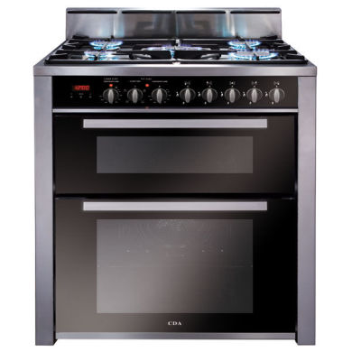 CDA H908xW700xD600 700mm Dual Fuel Rangecooker Twin Cavity