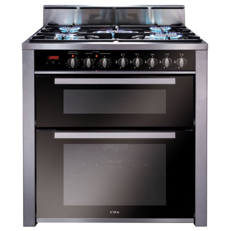 CDA H908xW700xD600 700mm Dual Fuel Rangecooker Twin Cavity primary image