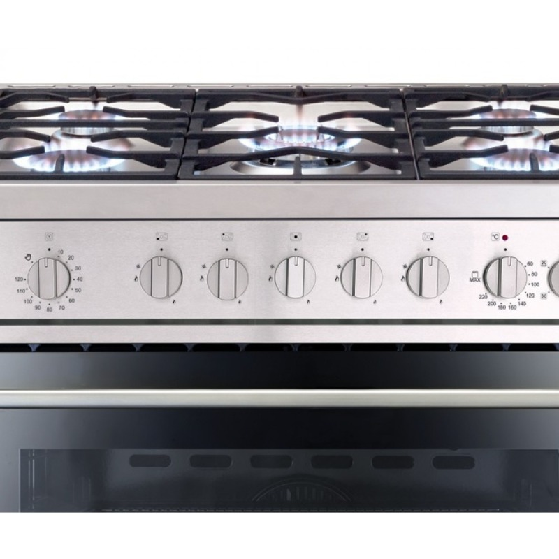Matrix MR111SS 900mm Dual Fuel Rangecooker Single - Stainless Steel - MR111SS additional image 1