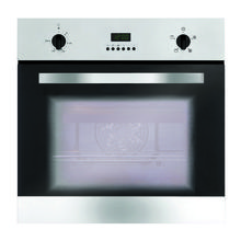 Matrix H595xW595xD542 Single Fan Oven - Stainless Steel with Clock
