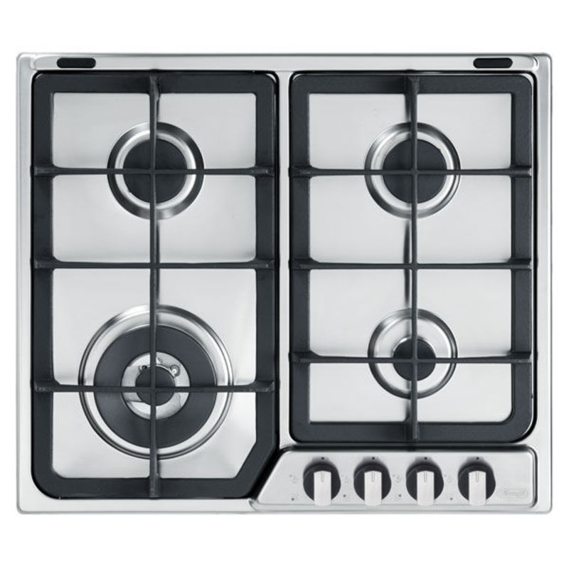 DeLonghi DGH605 600 Gas 4 Burner Hob - Stainless Steel primary image