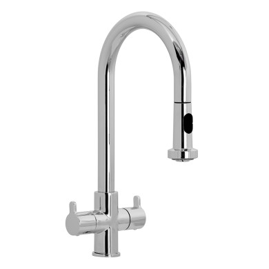 Delphi Pull Out Tap Chrome - High Pressure Only