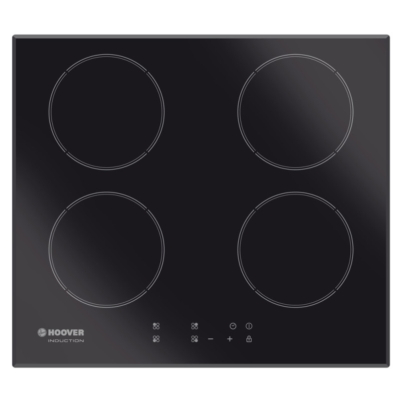 Hoover H52xW590xD520 4 Zone Hob Induction - Black (Touch Control) primary image
