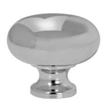32mm Ruby Chrome Knob