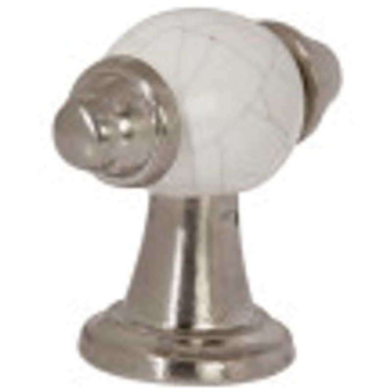 54mm Esme Pewter And White Crackled Handle primary image