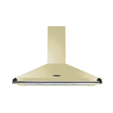 Rangemaster CLAHDC100CR/C Classic 1000mm Chimney Cooker Hood - Cream/Chrome - CLAHDC100CR/C