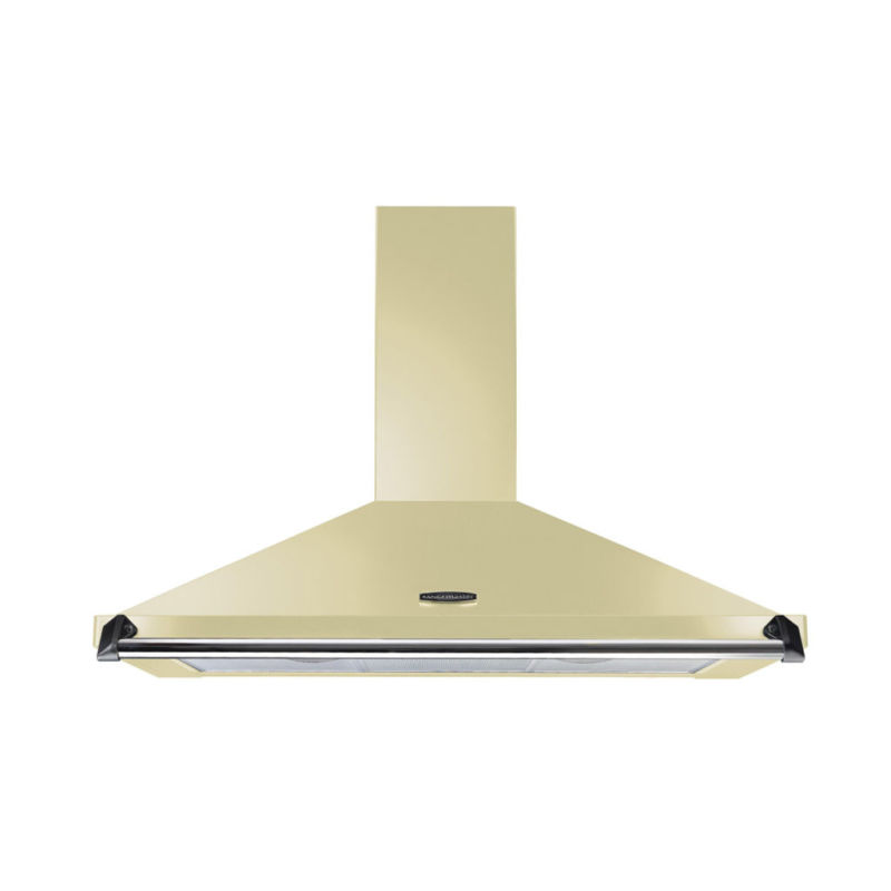 Rangemaster CLAHDC100CR/C Classic 1000mm Chimney Cooker Hood - Cream/Chrome - CLAHDC100CR/C primary image