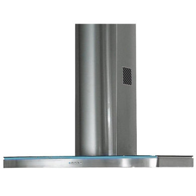 Rangemaster ELTHDC110SG Elite 110cm Chimney Cooker Hood - Stainless Steel and Glass - ELTHDC110SG/